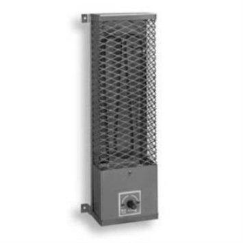 King Electrical U1250-SS Pump House Utility Heater 120 Volt 500 Watt Vertical/Horizontal Mount 304/840 Stainless Steel Heating Element 20 Gauge 304 Stainless Steel
