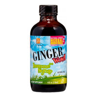 L A Naturals Ginger Wow! Syrup Immune, 4 Oz
