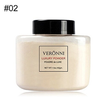VERONNI Banana Loose Powder Long Lasting Whitening Concealer Powder Mineral Makeup Face Foundation Highlighter