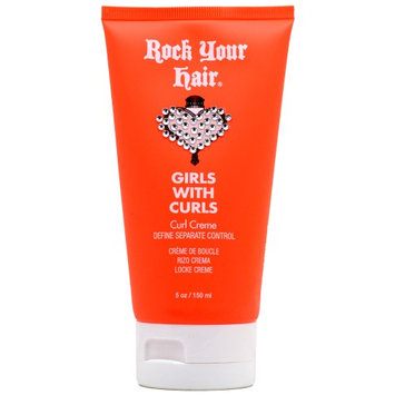 Rock Your Hair Girls with Curls Curl Creme 5 oz