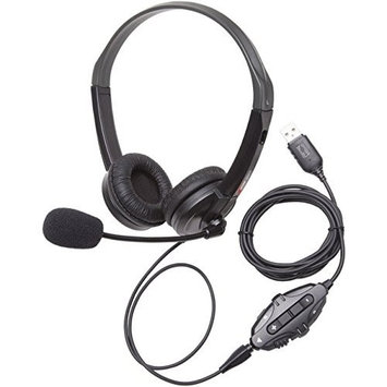 Califone GH131 Xbox 1, PS4 & PC Gaming Headset via Ergoguys - Surround - Mini-phone - Wired - Over-the-head - Binaural - Circumaural - 3 ft Cable