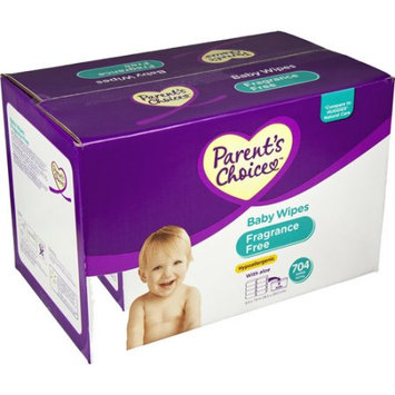 Nice Pak Products, Inc. Parent's Choice Unscented Baby Wipes, 704 ct