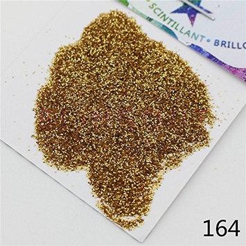 164 Nail Body Eye Shadow Iridescent Glitter Champagne Silver Series