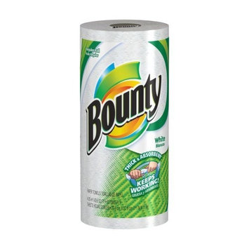 Bounty Paper Towels, White, Regular Roll (Pack of 30)