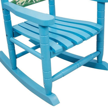 Fantasy Fields - Froggy Thematic Kids Wooden Rocking Chair | Imagination Inspiring Hand Crafted & Hand Painted Details Non-Toxic, Lead Free Water-based Paint [Froggy]