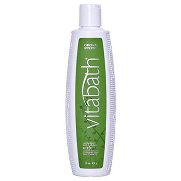 Vitabath Moisturizing Bath & Shower Gelée, Original Spring Green - 16 oz