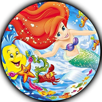 The Little Mermaid Ariel Edible Frosting Image Cake Topper - 8