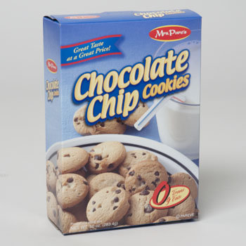 Dollaritemdirect COOKIES BOXED CHOCOLATE CHIP 10 OZ. MRS. PURES, Case Pack of 12