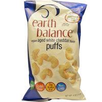 Earth Balance, Vegan Puffs, Aged White Cheddar Flavor, 4 oz (pack of 2)