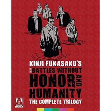 Arrow Video New Battles Without Honor & Humanity Blu-ray (limited Edition Blu-Ray + DVD)