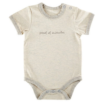 Stephan Baby D2566 0-3mo Proof of Miracles Snapshirt