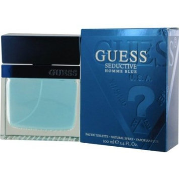 GUESS SEDUCTIVE HOMME BLUE by Guess EDT SPRAY 3.4 OZ GUESS SEDUCTIVE HOMME BLUE