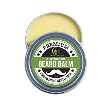 Beard Balm - Classic Barbershop softens The Beard, tames The Strays, adds Definition, and Gives a Nice Manly Shine.