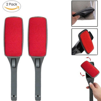 2 PACK Magic Lint Brush Pet Hair Remover with Swivel