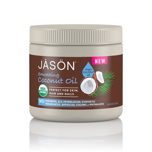 Jason Natural Products Hair Oil Coconut Organic, 15OZ