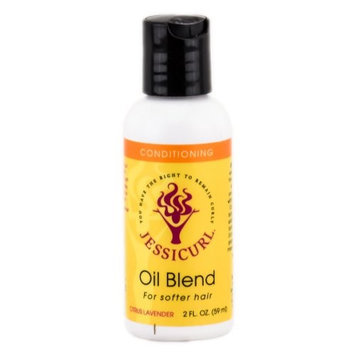 Jessicurl Oil Blend for Softer Hair - Citrus Lavender - 2 oz