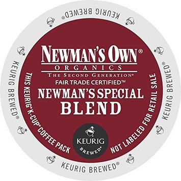 man's Own Organics K-Cup Portion Pack for Keurig K-Cup Brewers, Newman's Own Special Blend (Pack of 96) (Packaging may vary)