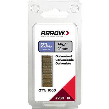 Arrow 13/16 in. L 23 Ga. Galvanized Trim Pin Nails 1 000 pk(23G20-1K)