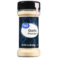 Great Value Garlic Powder, 3.4 oz