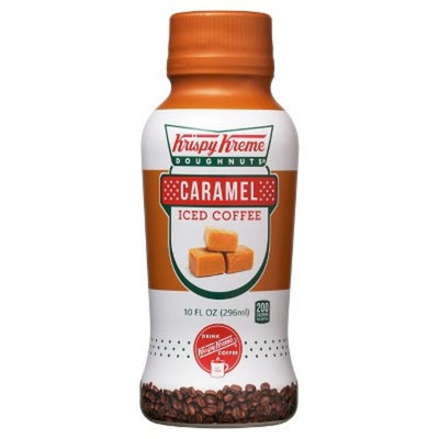 Krispy Kreme 10 oz Caramel Iced Coffee