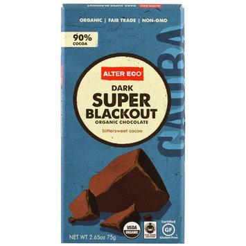 Organic Dark Chocolate 90% Cocoa Super Blackout - 2.65 oz.