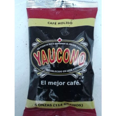Cafe Yaucono 4 Ounces Ground Coffee Sample Bag from Puerto Rico