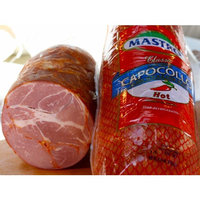 Mastro Hot Capocollo 1 Pound Sliced