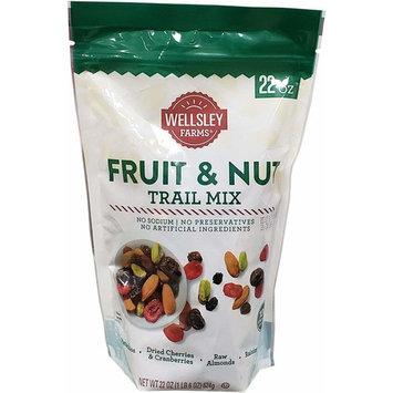 Wellsley Farms Fruit & Nut Trail Mix, 22 Ounce