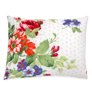 The Pioneer Woman Beautiful Bouquet Sham Set, White