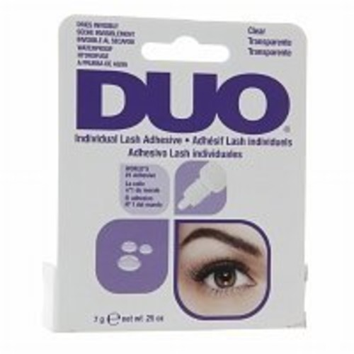 Duo Individual Lash Adhesive, Clear, .25 oz - 2pc by Duo