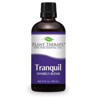 Tranquil Synergy Essential Oil Blend. 100 ml. 100% Pure, Undiluted, Therapeutic Grade. (Blend of: Bergamot, Patchouli, Blood Orange, Ylang Ylang and Grapefruit)