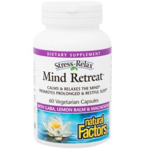 Mind Retreat (60 Vegetarian Capsules) by Natural Factors at the Vitamin Shoppe