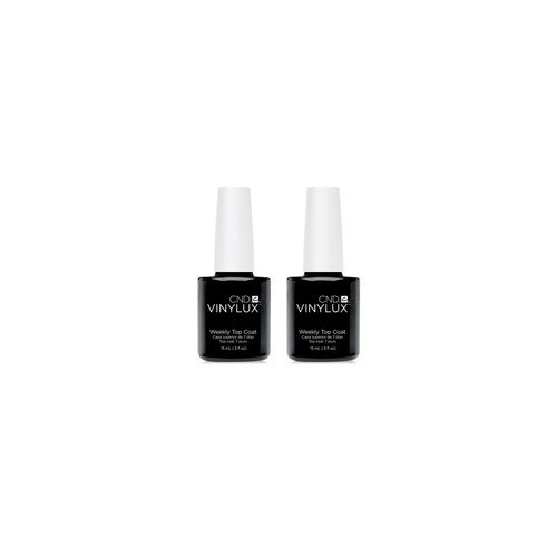 Creative Nail Design Vinylux Weekly Top Coat Duo (Two Items), 0.5-oz., from PUREBEAUTY Salon & Spa