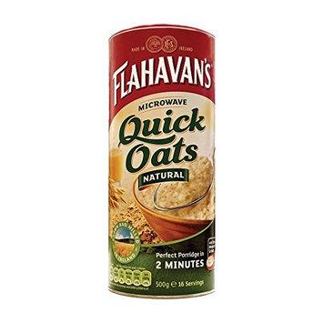 Flahavan's Microwaveable Quick Oats (500g) - Pack of 2