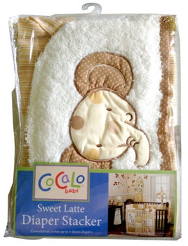 Cocalo Sweet Latte Diaper Stacker - natural