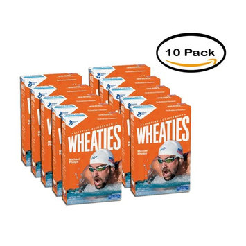 PACK OF 10 - Wheaties Cereal 15.6 oz Box