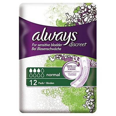 Always Discreet Normal Pads by Always