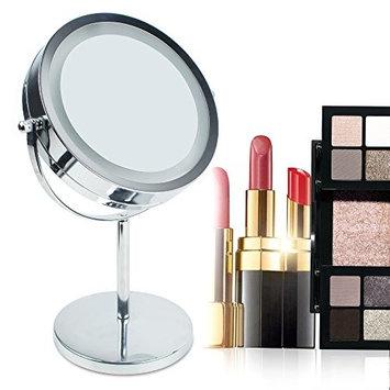 Vinmax Vanity Makeup Mirror,Magnifying Mirror Brightness Adjustable Make up Makeup Mirror & Dual 2 Sided Cosmetic LED Mirror&Cosmetic Makeup...