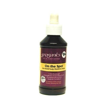 Groganics On the Spot Itch Relief Drops 4 oz. (Case of 6)