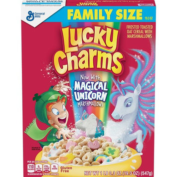 Lucky Charms With Magical Unicorn Marshmallows