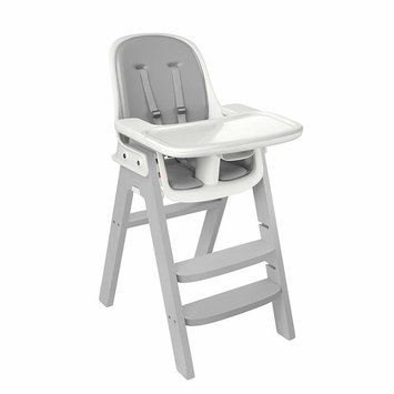 OXO Tot Sprout Chair with Tray Cover, Gray/Gray