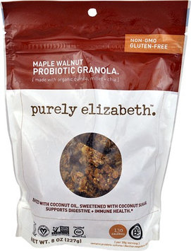 Purely Elizabeth Probiotic Granola Gluten Free Maple Walnut - 8 oz pack of 4