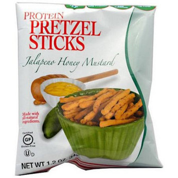 Kays Naturals Kay's Naturals Jalapeno Honey Mustard Protein Pretzel Sticks, 1.2 oz