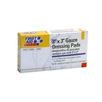 "Gauze Dressing Pads, 3"" x 3"", 4 pcs/ box"