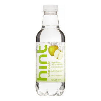 Hint Flavored Water - Crisp Apple - 16 oz - 12 ct