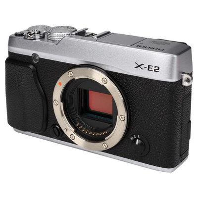 FUJIFILM X-E2 16404791 Silver Compact Mirrorless System Camera - Body