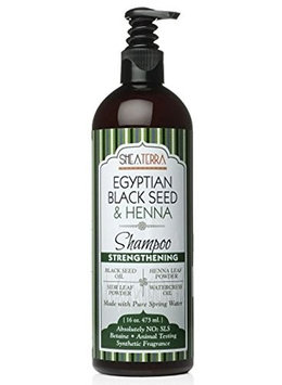 Shea Terra Egyptian Black Seed & Henna Natural Shampoo Strengthening
