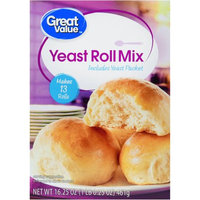 Great Value Yeast Rolls Mix