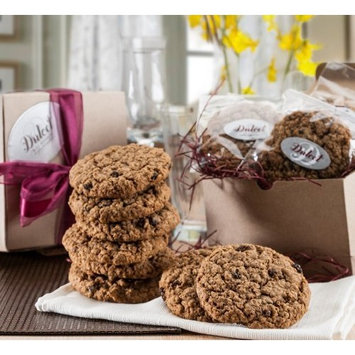 Dulcet Oatmeal Raisin Cookie Gift Basket-Includes: Old Fashioned Oatmeal Raisin Fresh Baked Cookies (12), Gourmet Classic Gift Box, Fresh and Tasty....