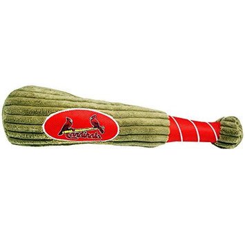 Pets First MLB St. Louis Cardinals Dog Baseball Bat Toy
